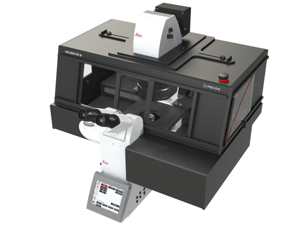 Incubator i8 - Variant 2 for Leica DMI8 microscope