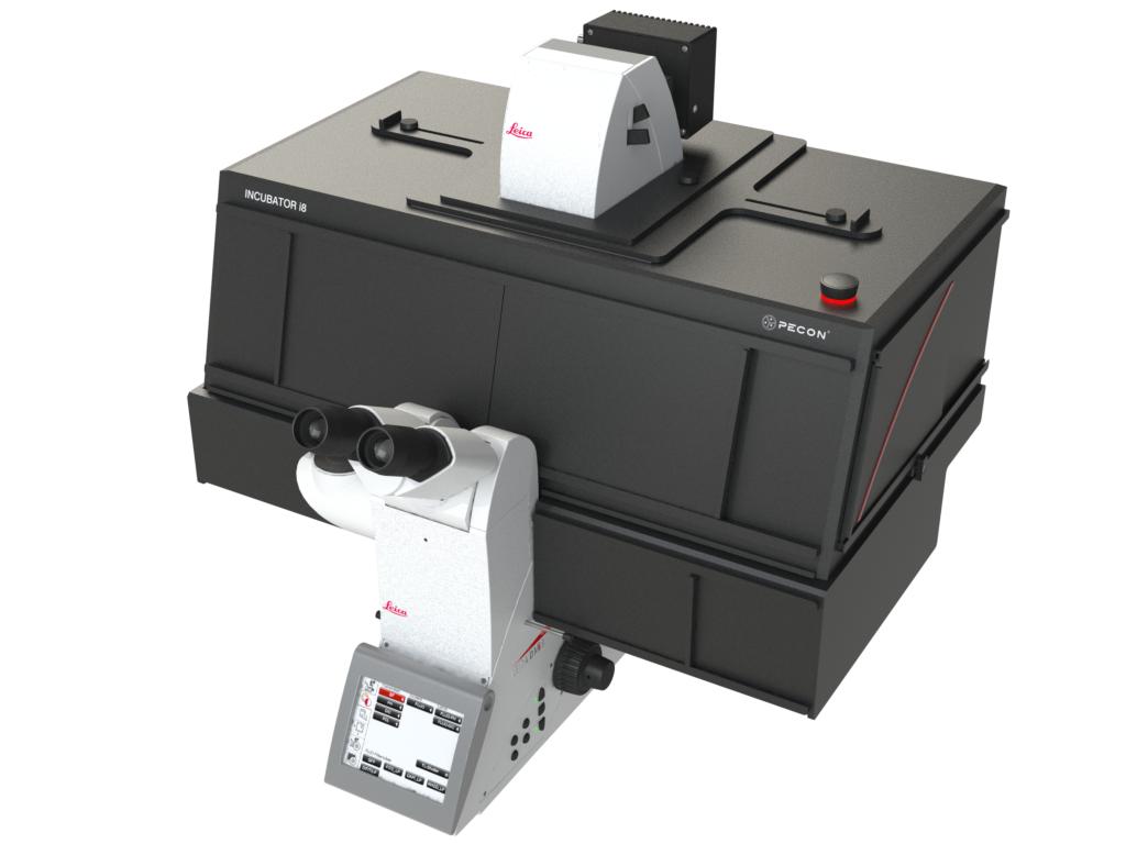 Incubator i8 - Variant 3 for Leica DMI8 microscope