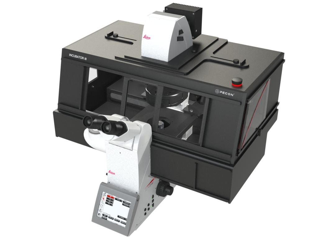 Incubator i8 - Variant 4 for Leica DMI8 microscope