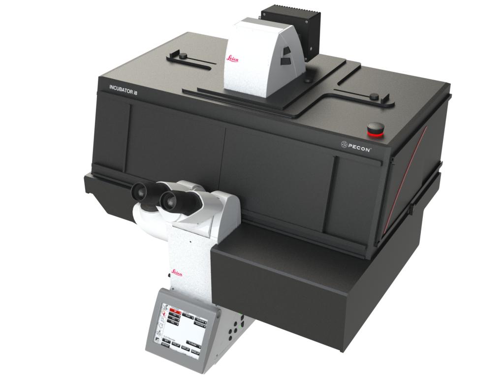 Incubator i8 - Variant 5 for Leica DMI8 microscope