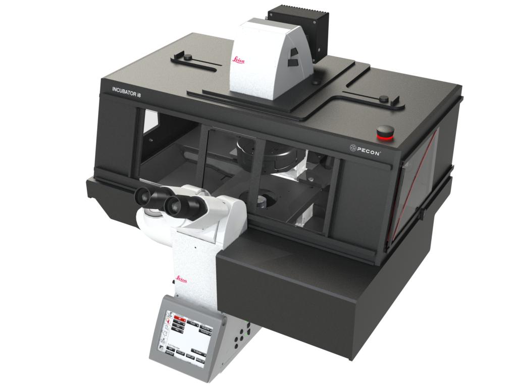 Incubator i8 - Variant 6 for Leica DMI8 microscope