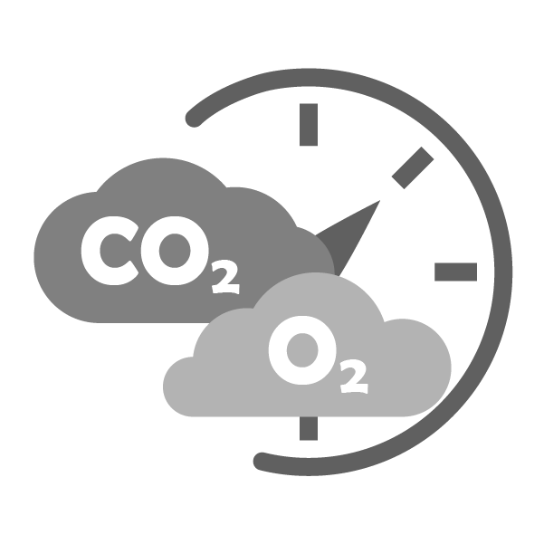 Gassing (CO2/O2)